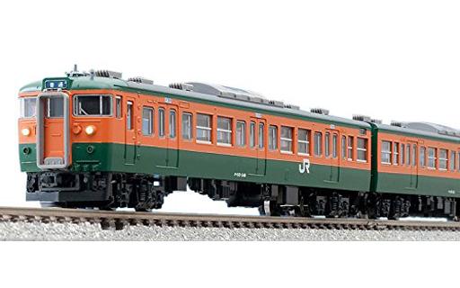 【新品】Nゲージ(車両) 1/150 国鉄 115-300系近郊電車(湘南色) 4両増結セットA [98225]