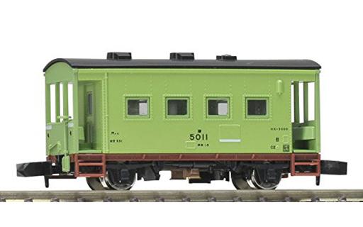 1/150 国鉄貨車 ヨ5000形(黄緑6...