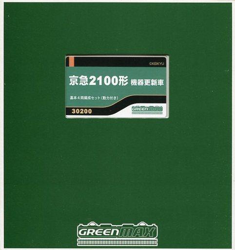 【新品】Nゲージ(車両) 1/150 京急2100形 機器更新車 基本4両編成セット 動力付き [30200]