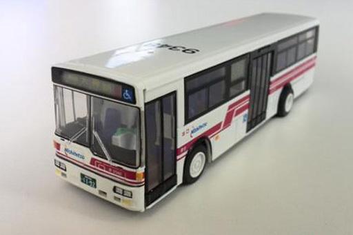 HOゲージ 1/80 西日本鉄道 一般路線バス 赤バス `100円循環 9348` [217Y]