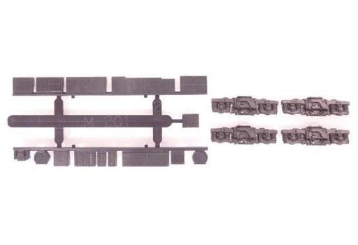 グリーンマックス 新品 鉄道模型 1/150 動力台車枠・床下機器セット A-15 DT46+M-201 [8498]