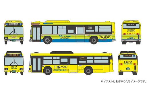 【予約】Nゲージ(ストラクチャー・アクセサリー) 1/150 十勝バス新旧カラー 2台セット 「ザ・バスコレクション」 [290650]