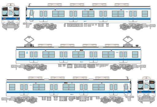 トミーテック 新品 鉄道模型 1/150 東武鉄道 800型 804編成 3両セット 「鉄道コレクション」 [303121]