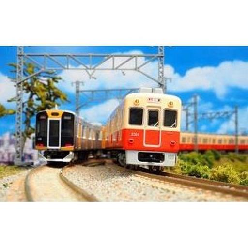 グリーンマックス 新品 鉄道模型 1/150 阪神2000系 2205編成・スカート取付後 6両編成セット 動力付き [30349]