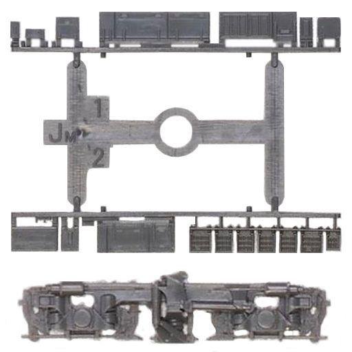グリーンマックス 新品 鉄道模型 1/150 動力台車枠・床下機器セット A-32 TH700+JM [8517]