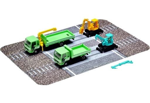 トミーテック 予約 Nゲージ 1/150 軌陸保線車両セットC 「ザ・トラックコレクション」 [319924]
