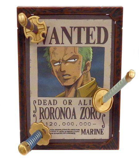 【中古】トレーディングフィギュア ロロノア・ゾロ ワンピース 麦わら海賊団 手配書コレクション