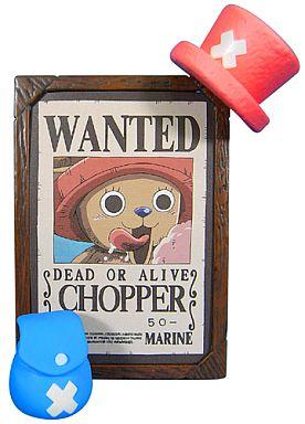 【中古】トレーディングフィギュア トニートニー・チョッパー ワンピース 麦わら海賊団 手配書コレクション