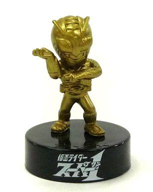 【中古】食玩 トレーディングフィギュア 仮面ライダースーパー1(金) 仮面ライダーワールドクロニクルSTAGE2