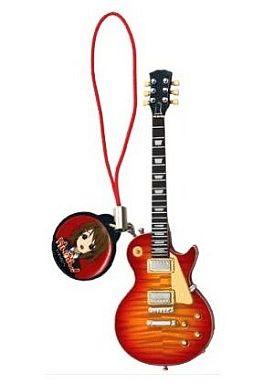 【中古】トレーディングフィギュア 唯モデル (レスポールtype) B 唯チャーム・ストラップ付き けいおん!Guitar Colection