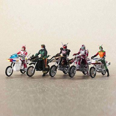 【中古】トレーディングフィギュア 全6種 「特撮メカコレクション ライダーマシンクロニクル5」