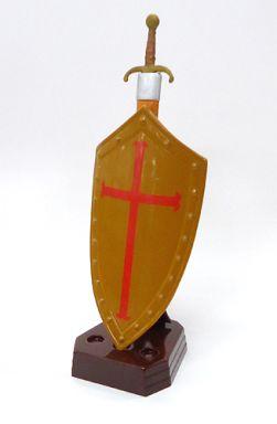 【中古】トレーディングフィギュア ロングソード1(十字軍仕様) コンビニ版シークレットアイテム 「武-もののふ- 第壱弾」