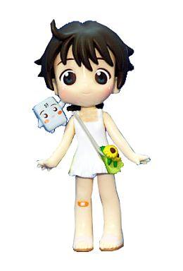 【中古】トレーディングフィギュア 藤村鳩子(ぺと子) ワンピースver. 3Dデザインフィギュア 「ぺとぺとさん」