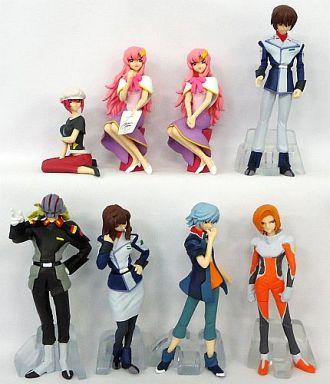 全8種セット 「HGIFシリーズ ガンダムキャラクターズ4 機動戦士ガンダムSEED DESTINY編」