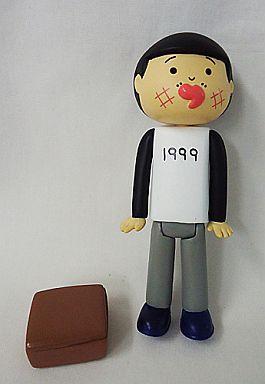 【中古】トレーディングフィギュア 【シークレット】鉄郎・白Tシャツ(1999) 「おやすみなさい。 トレーディングフィギュア」