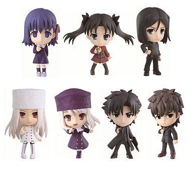 全7種セット 「一番くじきゅんキャラわーるど Fate/Zero PART2」 G賞 ちびきゅんキャラ
