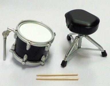 【中古】トレーディングフィギュア タムタム(大)&ドラム・スツール(ブラックver.) 「BECKドラムコレクション 3rd Stage」