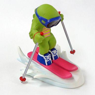 【中古】トレーディングフィギュア スキー(ピンク) 「ガチャピンチャレンジ」