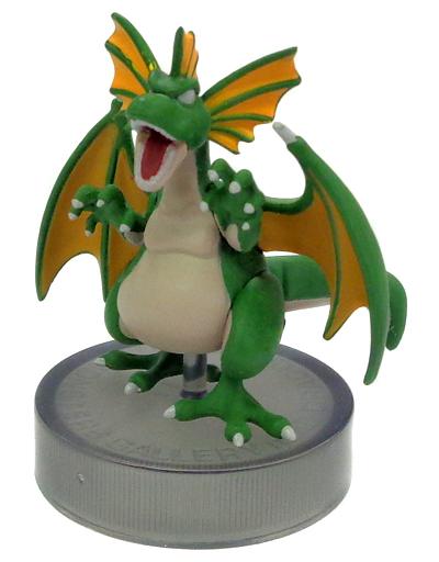 【中古】トレーディングフィギュア グリーンドラゴン 「ドラゴンクエスト モンスターズギャラリーmini ?ドラゴンの咆哮編?」
