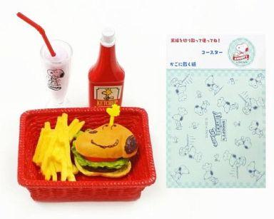 【中古】トレーディングフィギュア 1.ハンバーガー 「スヌーピーズ アメリカンダイナー」