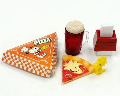 【中古】トレーディングフィギュア 6.ピザ 「スヌーピーズ アメリカンダイナー」