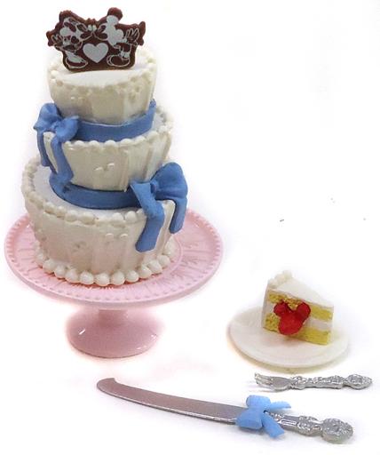 【中古】トレーディングフィギュア 5.ウェディングケーキ 「ディズニー ミッキー&ミニー ハッピーウエディングドリーム」