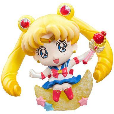 【中古】トレーディングフィギュア セーラームーン 「ぷちきゃらランド 美少女戦士セーラームーン キャンディでメイクアップ!」