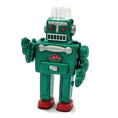 【中古】トレーディングフィギュア スモーキングロボット(緑) 「北原コレクション」