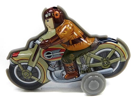 【中古】トレーディングフィギュア アメリカンバイク 「ぶりきのおもちゃ館 北原コレクション」