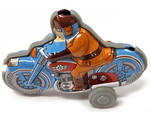 【中古】トレーディングフィギュア ミリタリーバイク 「ぶりきのおもちゃ館 北原コレクション」