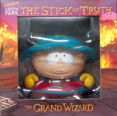 the grand wizard kidrobot south park サウスパーク the stick of