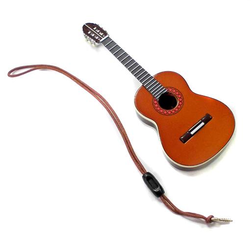 【中古】トレーディングフィギュア E.クラシックギター(茶)+ストラップ 「のだめカンタービレClassic 楽器セレクション」