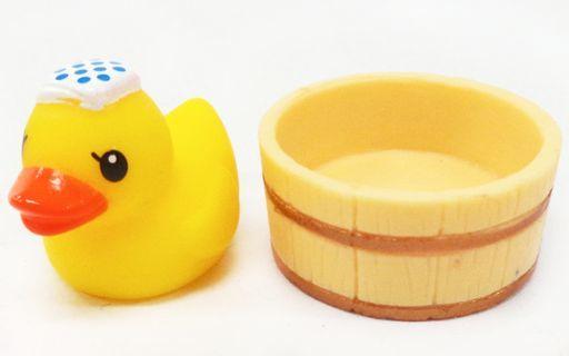 【中古】トレーディングフィギュア 1.あひると風呂桶 「あひる温泉」