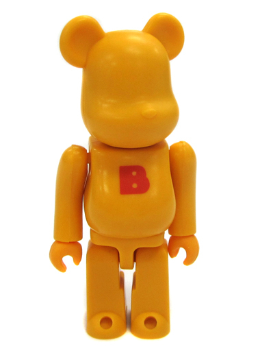 【中古】トレーディングフィギュア BASIC(イエロー/B小) 「BE@RBRICK ベアブリック シリーズ2」