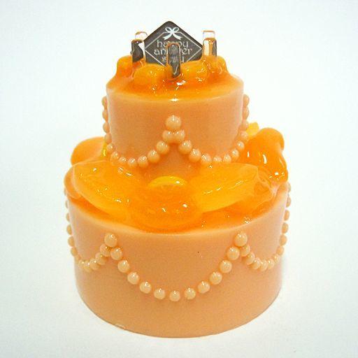 【新品】トレーディングフィギュア オレンジ 「光るウェディングケーキ」
