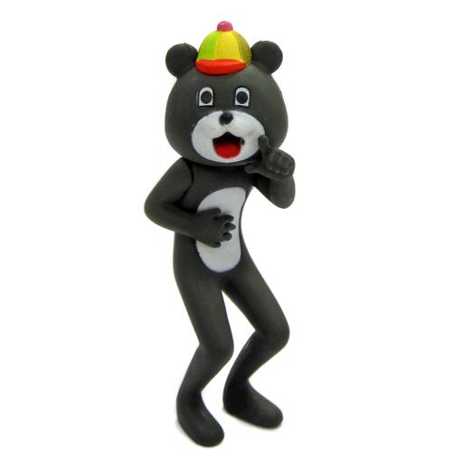 【中古】トレーディングフィギュア 【シークレット2】クマ(黒) 「目が笑ってない着ぐるみたち」