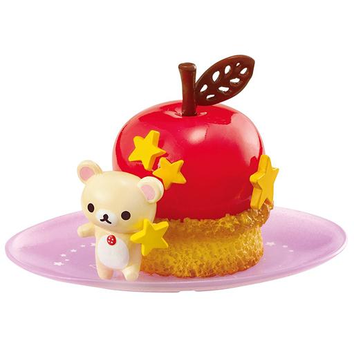 "2. Apple cinnamon cake ""Rilakkuma fruit plenty Yumejikoto sweets"""