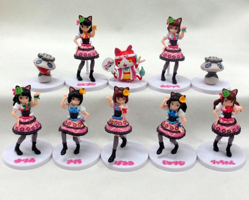 全10種セット 妖怪ウォッチakb48 ニャーkb With ツチノコパンダ