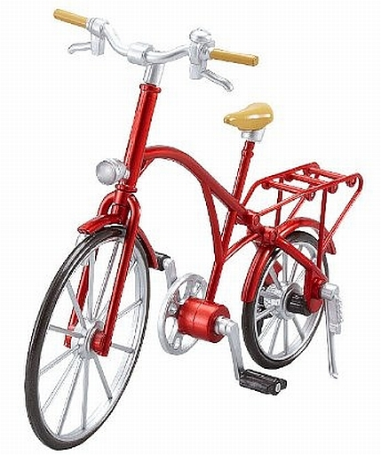 【中古】フィギュア ex:ride ride.002 クラシック自転車(メタリックレッド)