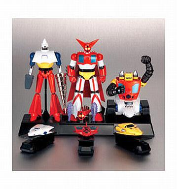 【中古】フィギュア 超合金魂 GX-06 ゲッターロボ(ゲッター1・2・3/3体セット) 「ゲッターロボ」