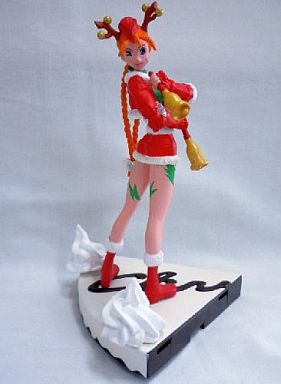 【中古】フィギュア キャミィ・ホワイト 「ストリートファイターII」 カプコンキャラクター クリスマスサンタガールフィギュア