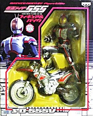 【中古】フィギュア 仮面ライダーファイズ&オートバジン Midnight Ver.「仮面ライダー555(ファイズ)」フィギュア&バイク