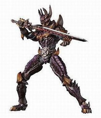 【中古】フィギュア 牙狼極魂 暗黒騎士 キバ 「黄金騎士 牙狼」