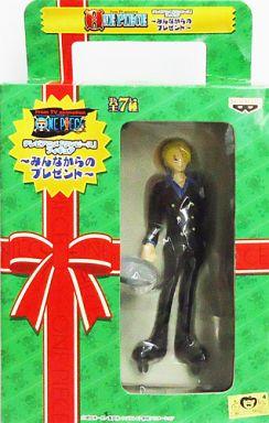 【中古】フィギュア サンジ「ワンピース」フィギュア?みんなからのプレゼント?