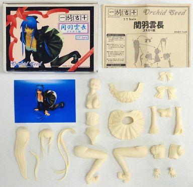 【中古】フィギュア 関羽雲長 ゴスロリ版「一騎当千」1/7レジンキャストキット