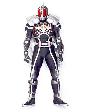 【中古】フィギュア 仮面ライダーファイズ アクセルフォーム「仮面ライダー555(ファイズ)」ビッグサイズソフビフィギュア3