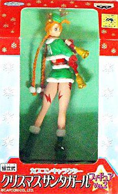 【中古】フィギュア キャミィ 「ストリートファイター」 カプコンキャラクター クリスマスサンタガールフィギュア Ver.2