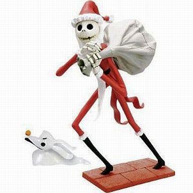 【中古】フィギュア サンタジャック&ゼロ 「ナイトメア・ビフォア・クリスマス」 デスクトップフィギュア