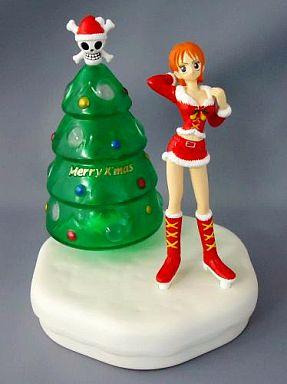 【中古】フィギュア ナミ 「ワンピース」 光るクリスマスツリー付フィギュア