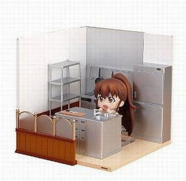 【中古】フィギュア ねんどろいどプレイセット#05 ワグナリアB 厨房セット